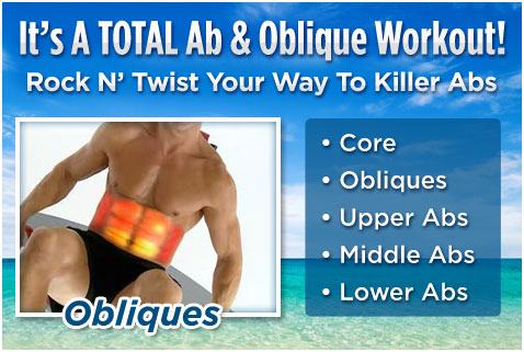 It's A TOTAL AB & Oblique Workout!